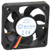 Вентилятор 5bites <F5010S-3> (3пин, 50x50x10мм, 24дБ,  4500 об/мин)