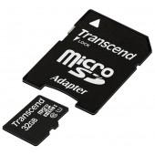 microSDHC 32 Gb Transcend < TS32GUSDU1 >
