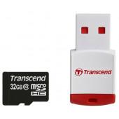 microSDHC 32Gb Transcend <TS32GUSDHC10-P3>