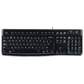 Logitech Keyboard K120<USB>  105КЛ  <920-002506>