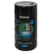 Defender <CLN30320> Влажные чистящие салфетки в пластиковой тубе для экранов всех типов (100шт)