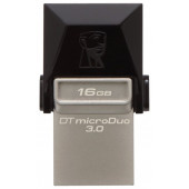 Kingston <DTDUO3/16GB> DataTraveler microDuo USB3.0/USB micro-BOTG 16Gb
