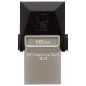 Kingston <DTDUO3/16GB> DataTraveler microDuo USB3.0/USB micro-BOTG 16Gb