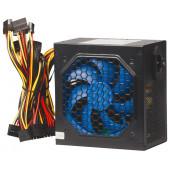 Блок питания NAVAN APFC-500W 120мм blue fan, APFC