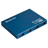 Defender Septima Slim <83505> 7-Port USB2.0 HUB  + б.п.