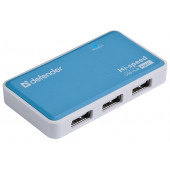 Defender Quadro Power <83503> 4-Port USB2.0 HUB  + Б.п.